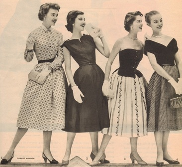 1950s Teenage Fashion - Fashion History 1950's Teens